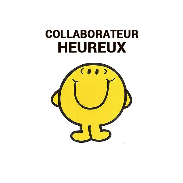 Collaborateur heureux